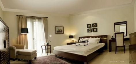 viem že to je hotelová izba,alebo niečo podobné...ale páčia sa mi tie farby :)