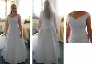 zkoušení šatů 1