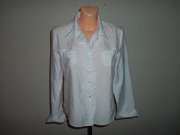 biela elegantná blúzka - Obrázok č. 1