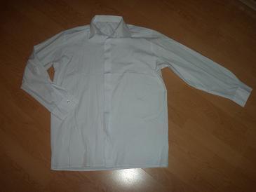 elegantná biela košela - Obrázok č. 1