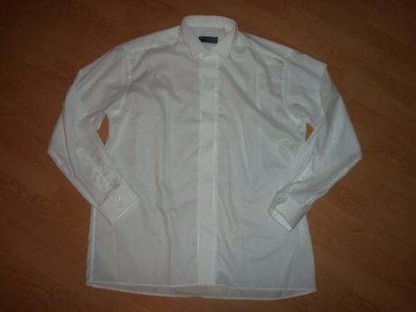 biela elegantná košela - Obrázok č. 1