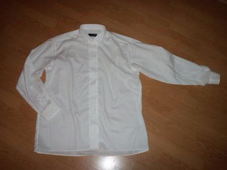 biela elegantná košela - Obrázok č. 2
