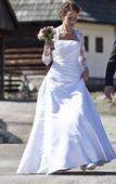 Moderné a štýlové svadobné šaty 36/38, 38