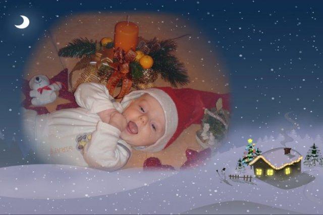 Renata Satnikova{{_AND_}}Alwin Geus - prve vianoce