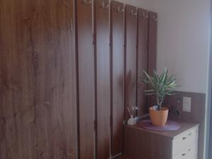 Povedlo se mi sladit barvy podlahy a dveří s předs. stěnou...
