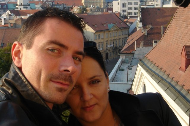 Nora a Martin - priprava na 15.3.2008 - My dvaja