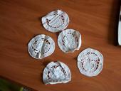 5ks malé dekoračné obruzky,