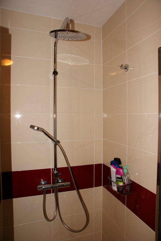 Kupelky - Zmenili sme poziciu sprchaca takto sa nam to zda lepsie