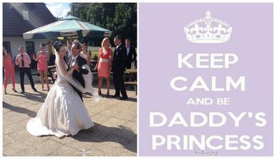 1. tanec s tatínkem na hity z jeho mládí :-)