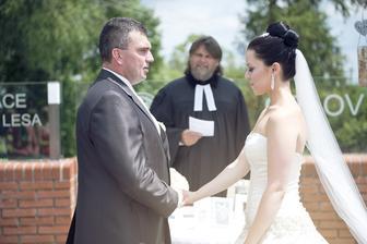 Já, Vlado, beru Tě sobě za manželku, a slibuji .... :-*