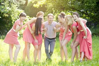 Fotograf Ráďa Fouček s mýma holkama :D