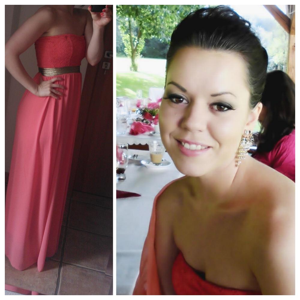 Nikolka{{_AND_}}Vlado - Tak jsme šli poprvé na svatbu jako manželé - v barvách naší svatby, trocha nostalgie musí být :) A musím neskromně říct, že být manželkou mi jde ;)