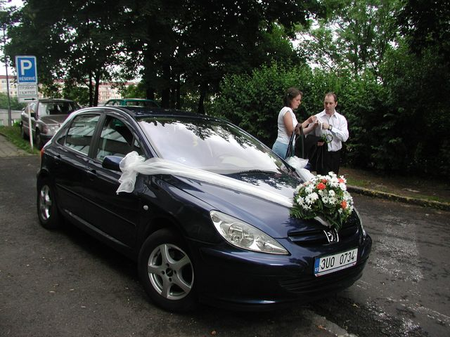Olí Fričová{{_AND_}}Michal Marek - Připravené autíčko pro nevěstu