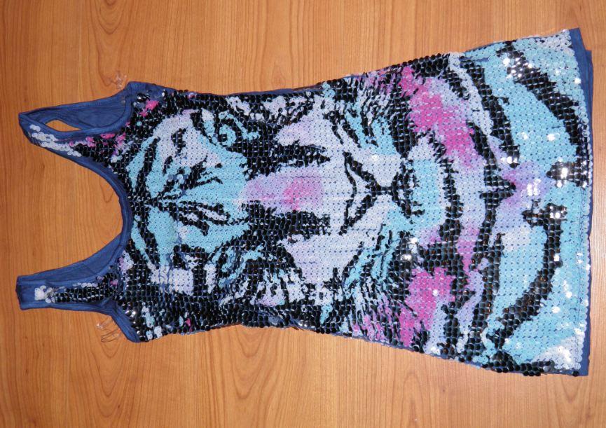 flitrované šaty  - Obrázok č. 1