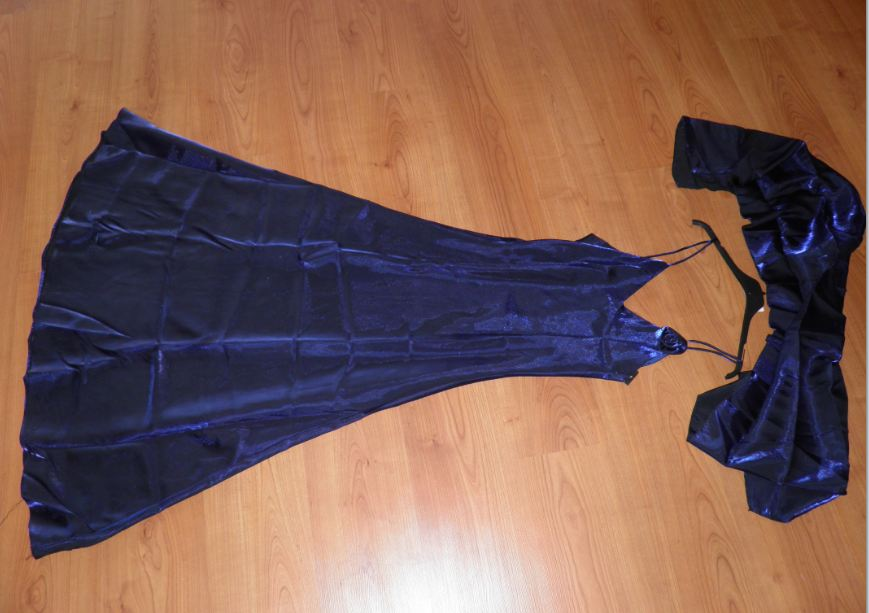 Spoločenské šaty M/L - Obrázok č. 1