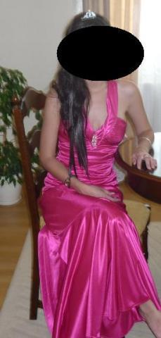plesové šaty  XS/S - Obrázok č. 2