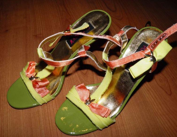 Nádherné sandále značky Playboy, č.36 nenosene - Obrázok č. 1