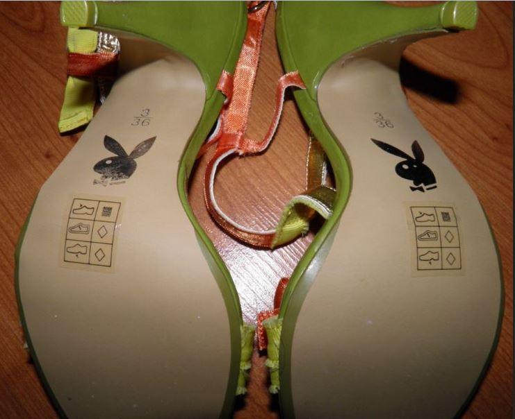 Nádherné sandále značky Playboy, č.36 nenosene - Obrázok č. 3