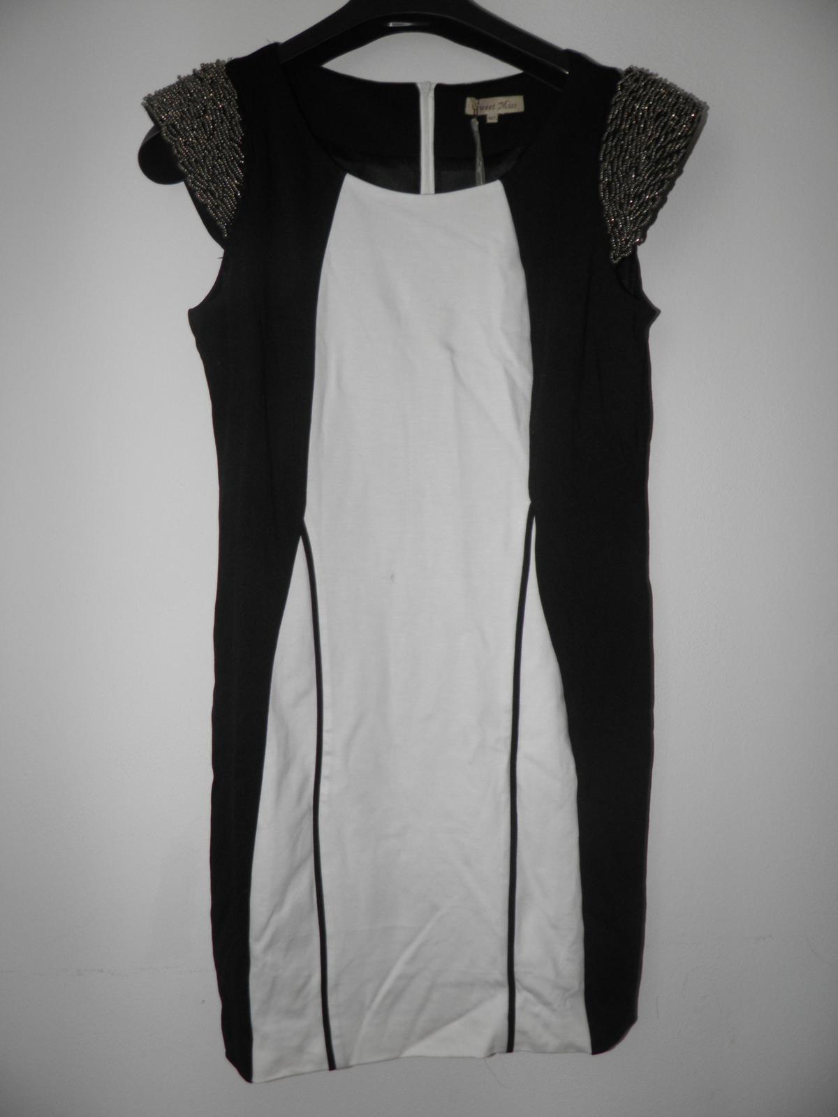 luxusné šaty z butiku, sedia na L/XL - Obrázok č. 1