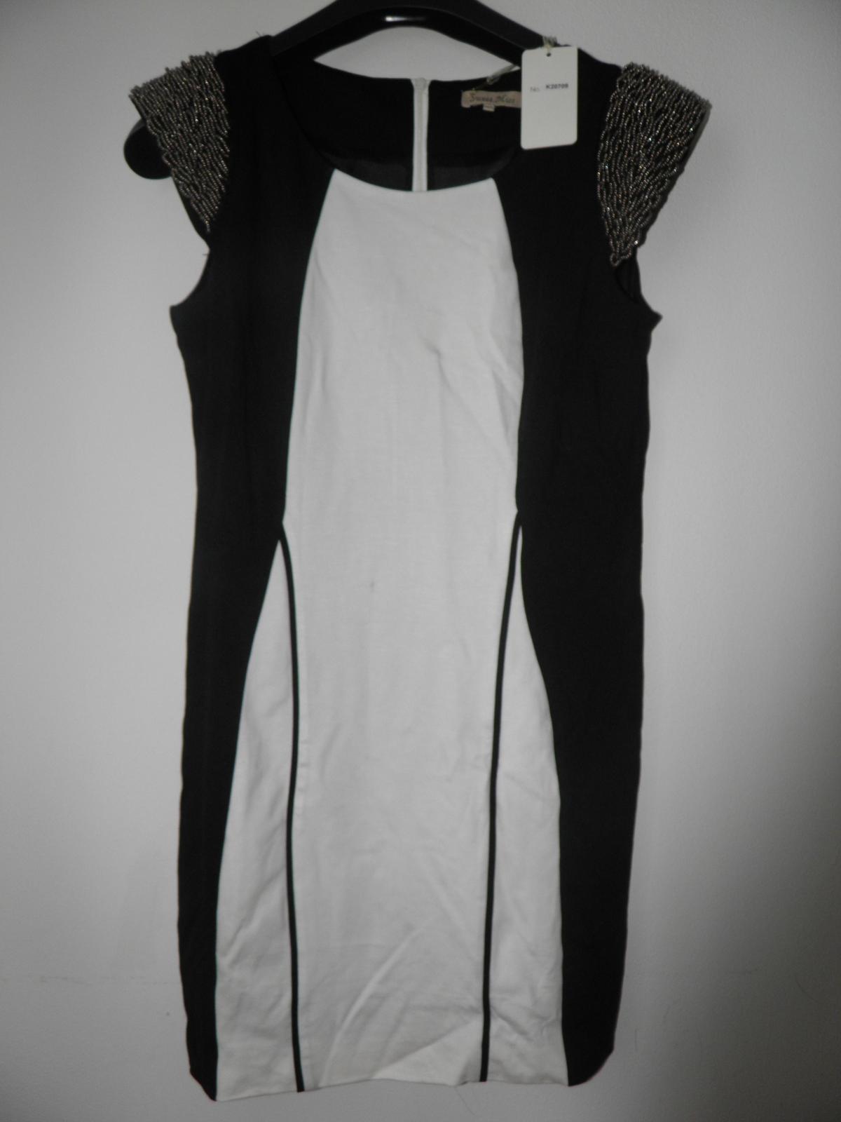 luxusné šaty z butiku, sedia na L/XL - Obrázok č. 2