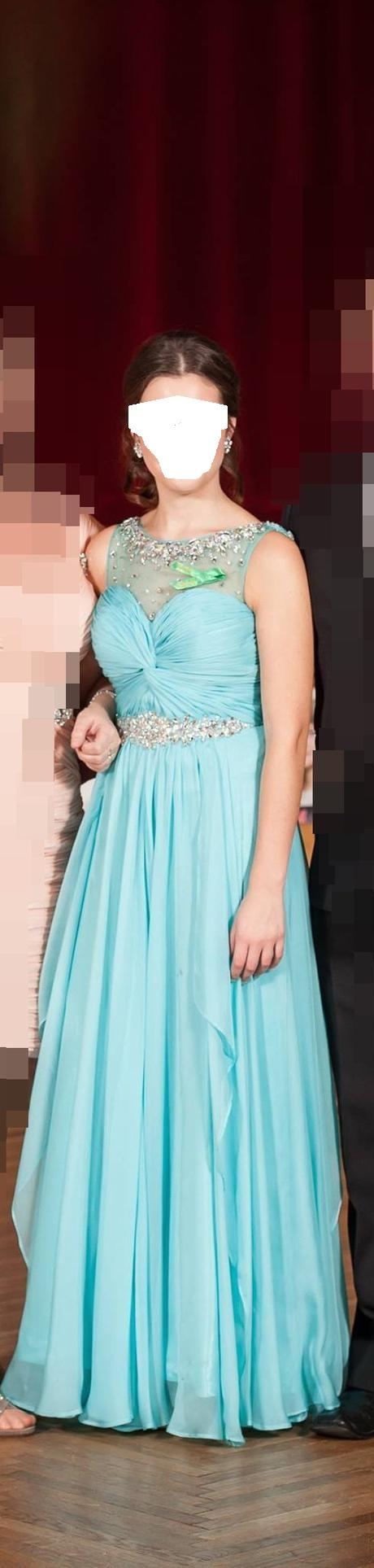 popolnočné plesové šaty XS/164cm - Obrázok č. 1
