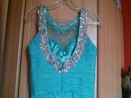 popolnočné plesové šaty XS/164cm - Obrázok č. 3