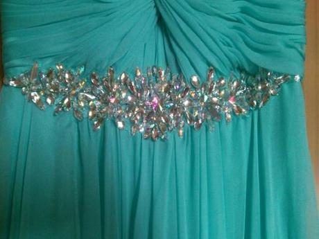 popolnočné plesové šaty XS/164cm - Obrázok č. 4
