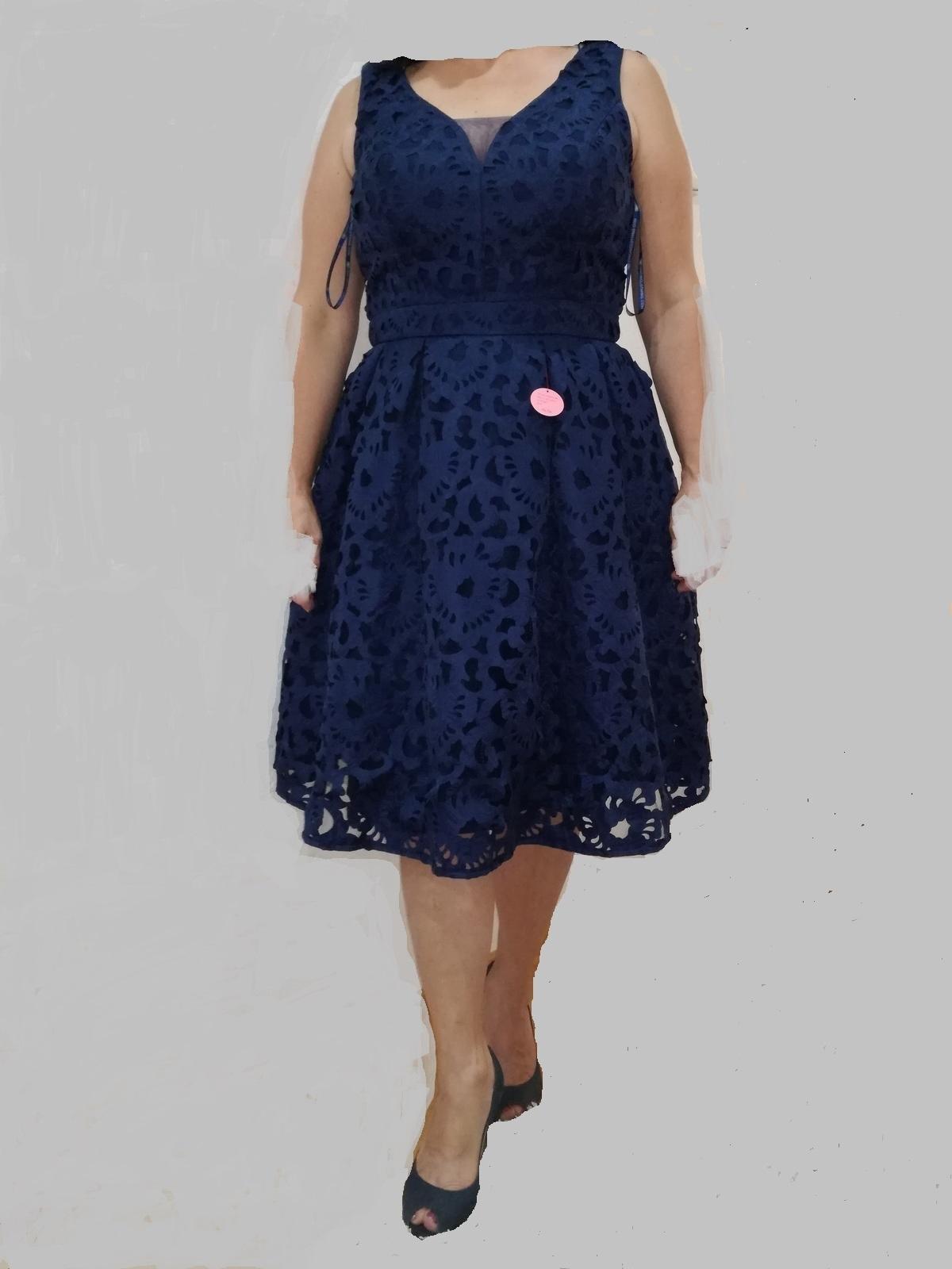 prekrásne luxusne šaty č. XL - Obrázok č. 1