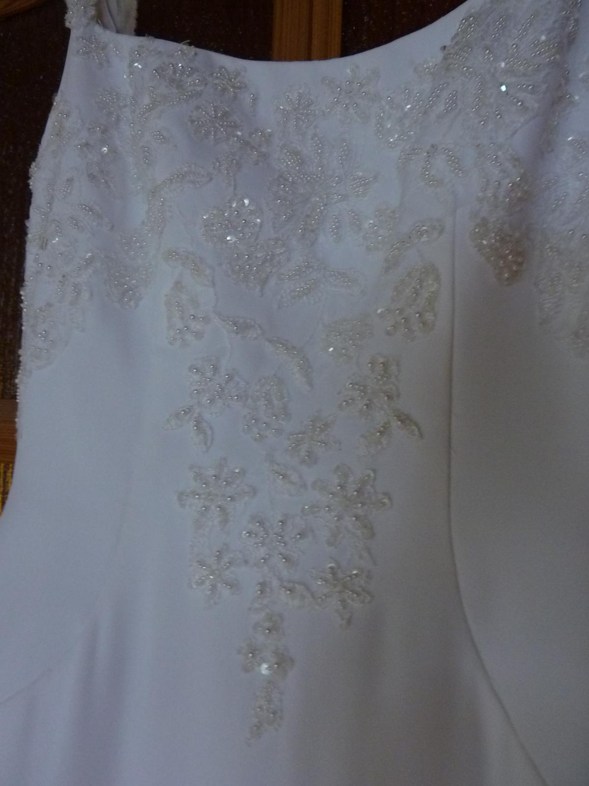 svadobné šaty Michelangelo z USA - Obrázok č. 3