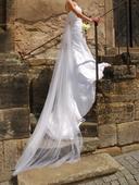 Krajkové svatební šaty, vel.34-36, 36