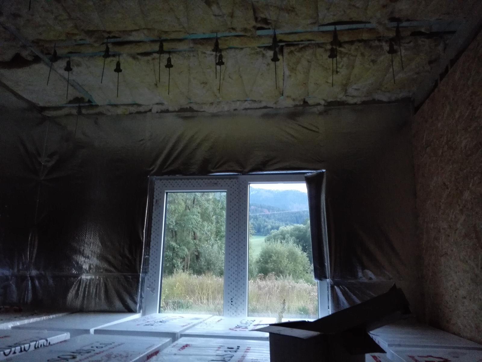 Keď si zmyslíme stavať dom - Robí sa konštrukcia na sadrokartóny