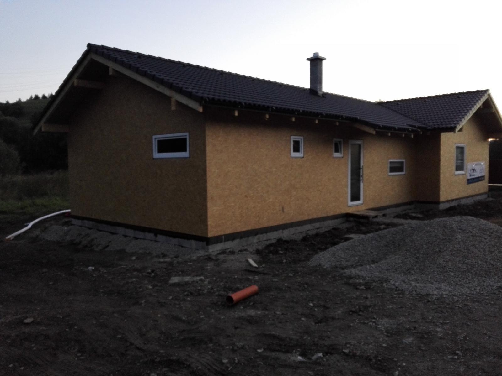Keď si zmyslíme stavať dom - Aj my makáme vonku