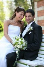 Celý náš svatební den probíhal s úsměvem!