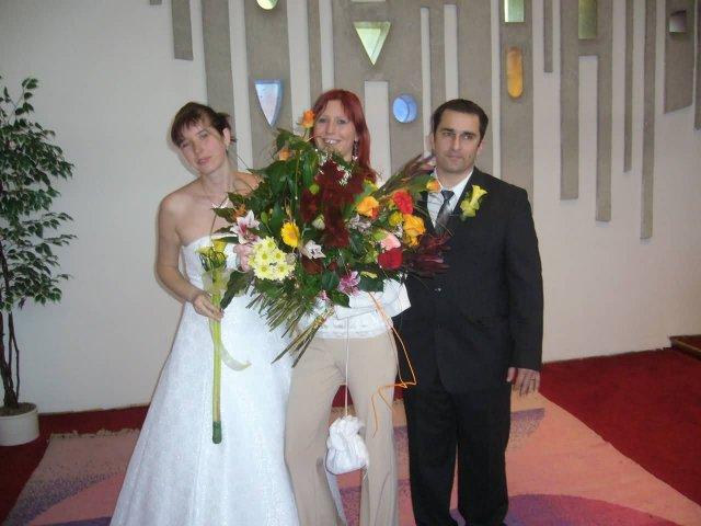 Ingrid Uramová{{_AND_}}Tibor Kremenik - po gratuláciach