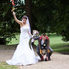 Já to vážně vyhrála, pouze bičík a spoutaná ruka, manžel to měl horší - spoutaná ruka, těžká koule, chomout a manželka s bičíkem :-D