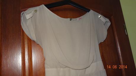 šifónove šaty orsay raz oblečené 36/38 - Obrázok č. 1