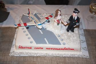 svadobná torta ...