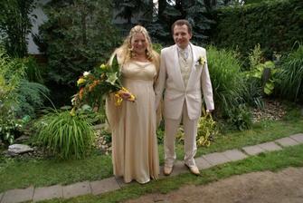 Nevěsta Já a můj ženich Vašek...