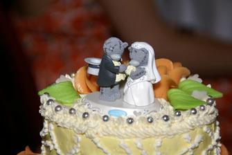 Detail našeho svatebního...