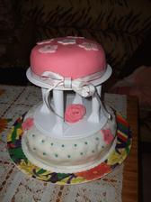 Zkouška dortu  na svatbu