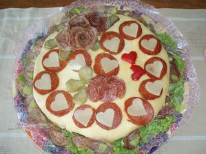 Slany dort
