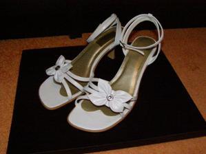 puvodní boty na svatbu ted na prodej