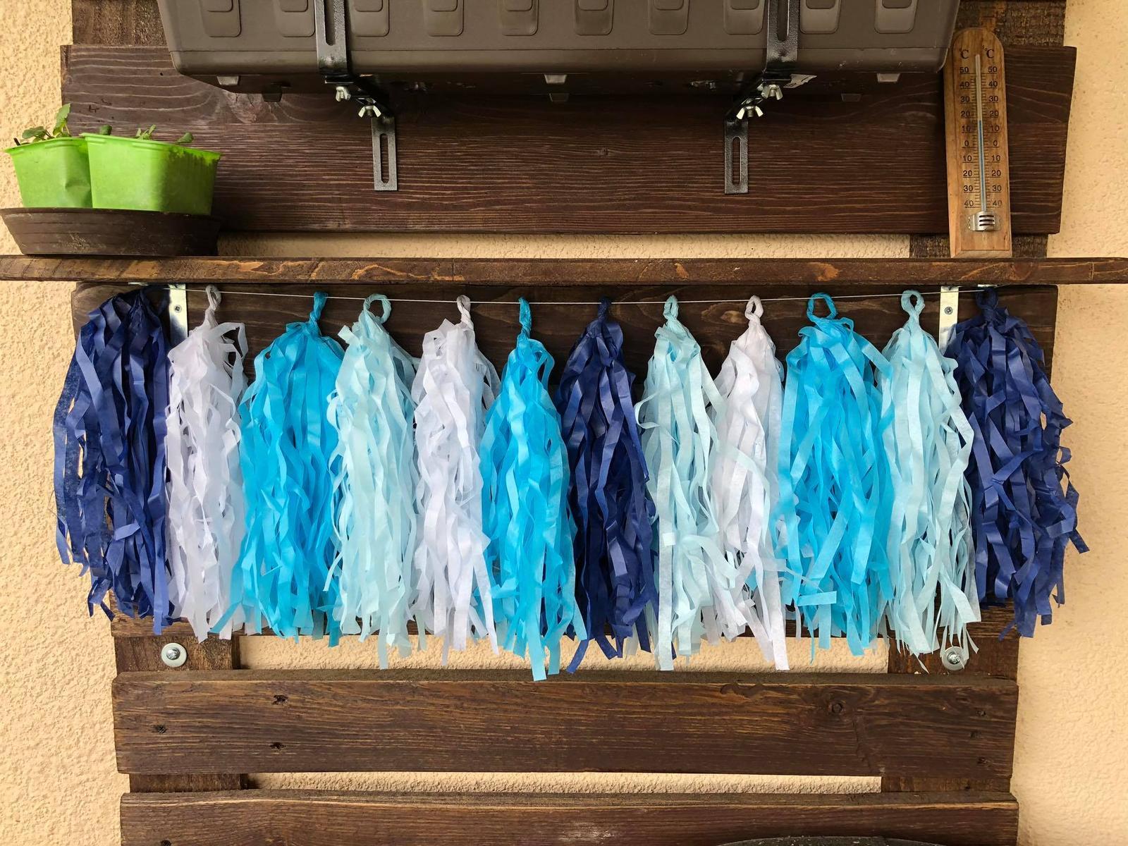 Nabízím dekoraci na modrou svatbu - Obrázek č. 32
