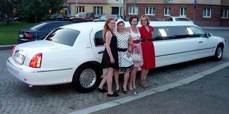 od holek jsem dostala limuzínu :-)