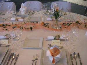 tak by to mělo vypadat na naší hostině, ale v růžovém