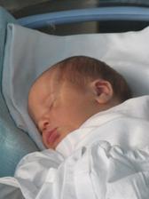 náš druhý potomok, Matej Ján, narodený 9. 1. 2010 (4180g, 53cm)