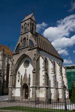 a v tejto kaplnke sv. Michala hneď vedľa sme o rok a pol neskôr pokrstili naše prvé dieťatko a o 3 a pol roka aj druhe :-)