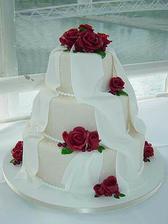 naša svadobná torta :-)