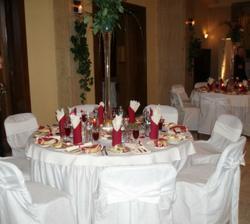 naša výzdoba stolov