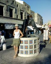 fontána na námestí v hlavnom meste
